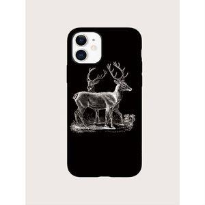 Black Christmas Deer iPhone 11 Pro Max Case 🦌